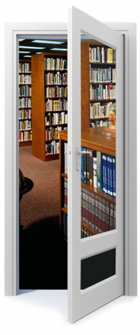 Library Door - Large