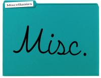 Misc Folder